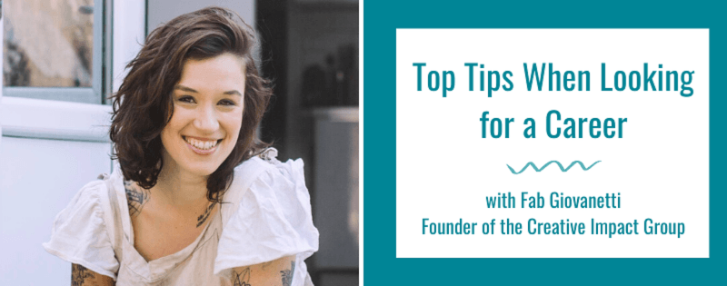 Top Tips When Looking for a Career